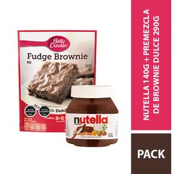 Nutella_Betty_Crocker_Brownie
